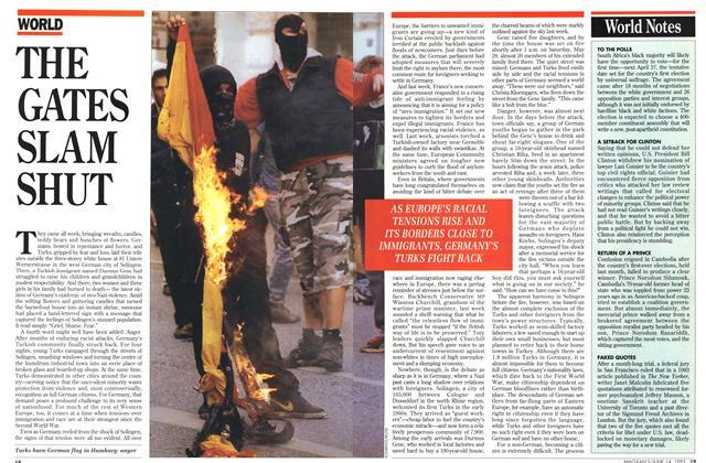 Article Preview: THE GATES SLAM SHUT, June 1993   Maclean's