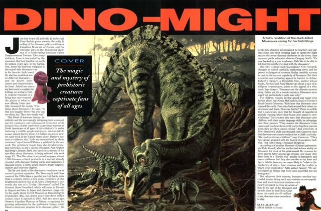 Article Preview: DINO MIGHT, June 1993 | Maclean's