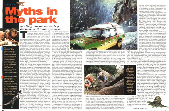 Article Preview: Myths in the park, June 1993 | Maclean's
