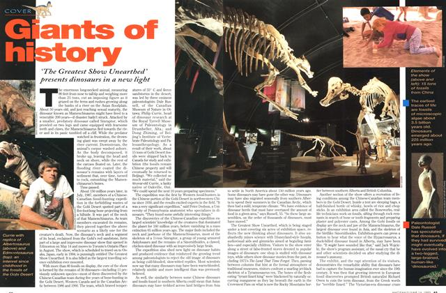 Article Preview: Giants of history, June 1993 | Maclean's