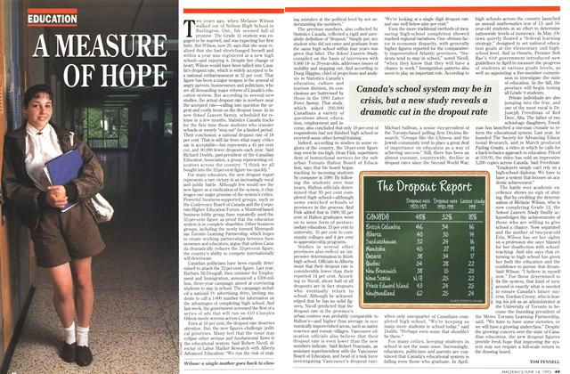 Article Preview: A MEASURE OF HOPE, June 1993 | Maclean's