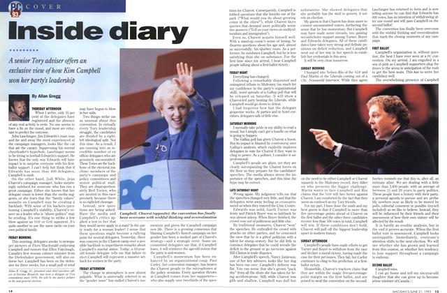 Article Preview: Inside diary, June 1993 | Maclean's