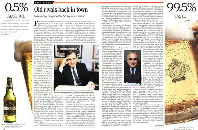 Article Preview: Old rivals back in town, June 1993 | Maclean's