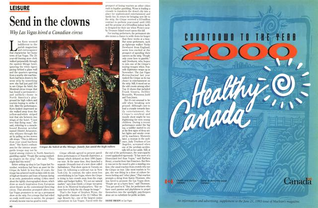 Article Preview: Send in the clowns, June 1993 | Maclean's