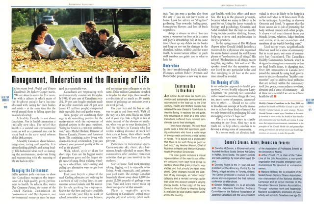 Article Preview: Management, Moderation and the Meaning of Life, June 1993 | Maclean's
