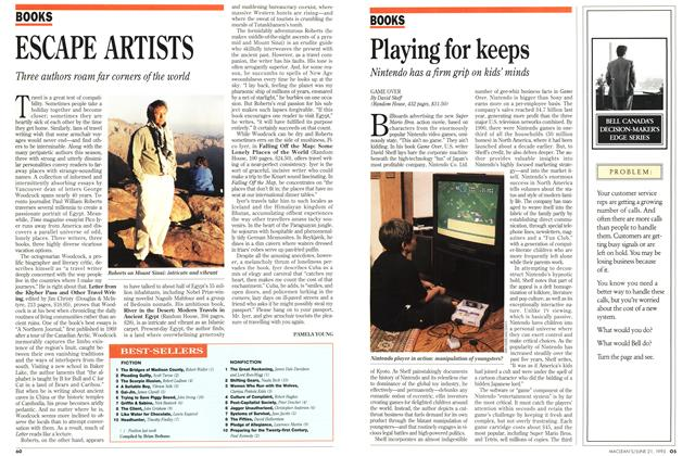 Article Preview: ESCAPE ARTISTS, June 1993 | Maclean's