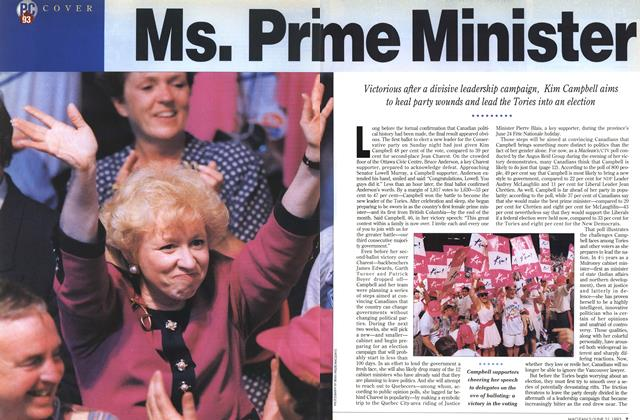 Article Preview: Ms. Prime Minister, June 1993 | Maclean's