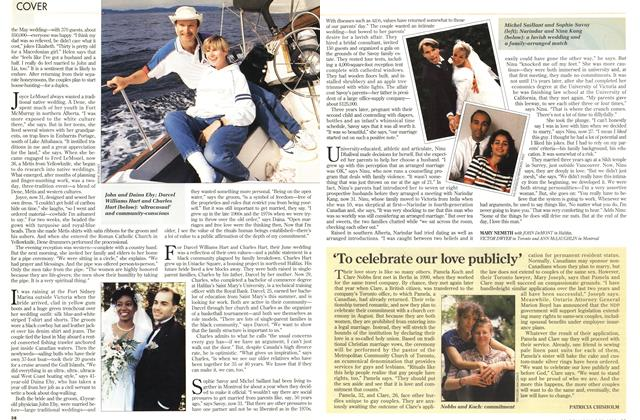 Article Preview: 'To celebrate our love publicly', June 1993 | Maclean's