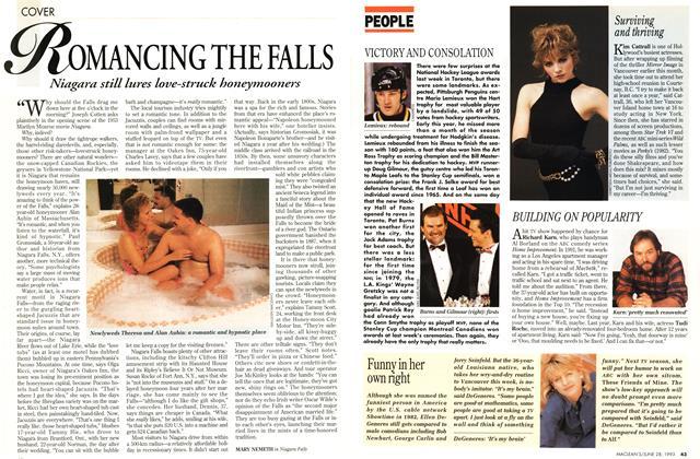 Article Preview: ROMANCING THE FALLS, June 1993 | Maclean's
