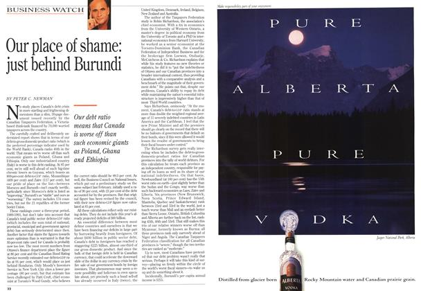 Article Preview: Our place of shame: just behind Burundi, July 1993 | Maclean's