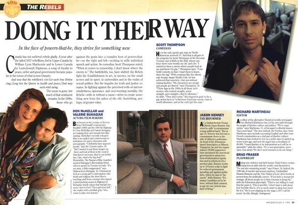 Article Preview: DOING IT THEIR WAY, July 1993 | Maclean's