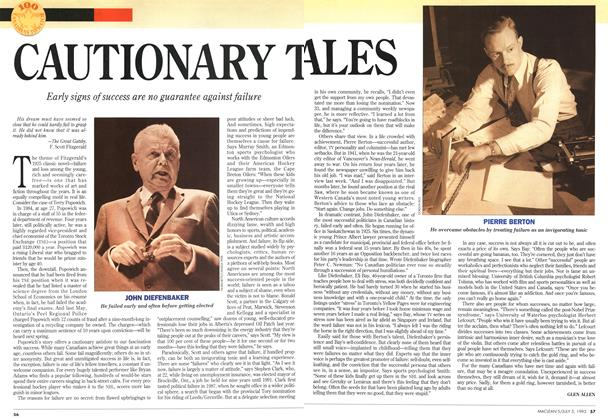 Article Preview: CAUTIONARY TALES, July 1993 | Maclean's