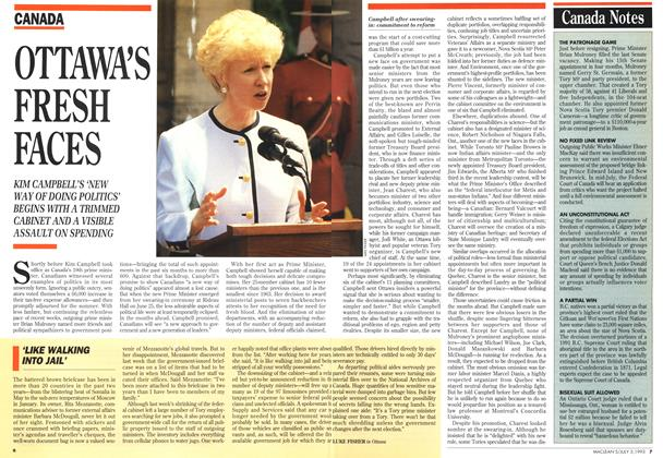 Article Preview: 'LIKE WALKING INTO JAIL', July 1993 | Maclean's