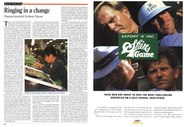 Article Preview: Ringing in a change, July 1993 | Maclean's