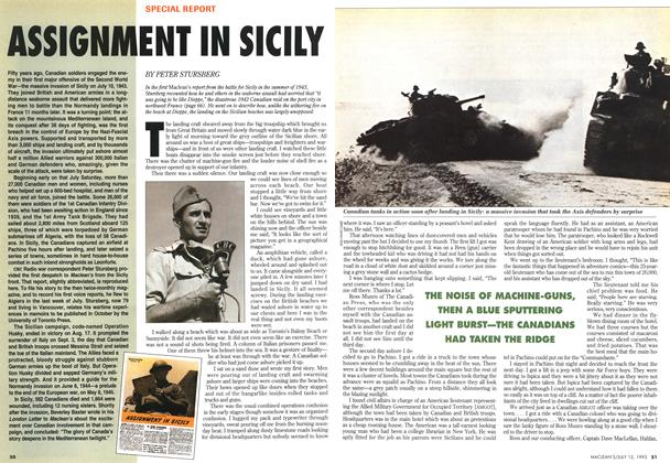 Article Preview: ASSIGNMENT IN SICILY, July 1993 | Maclean's