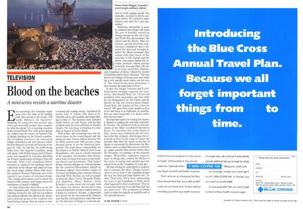 Article Preview: Blood on the beaches, July 1993 | Maclean's