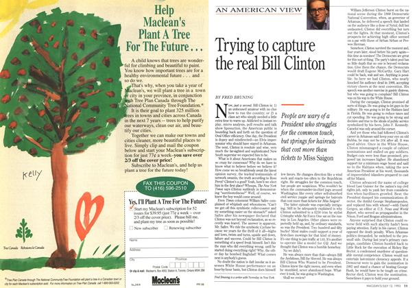 Article Preview: Trying to capture the real Bill Clinton, July 1993 | Maclean's