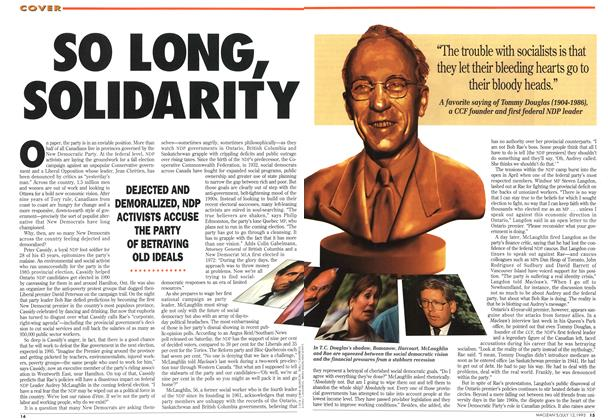 Article Preview: SO LONG, SOLIDARITY, July 1993 | Maclean's
