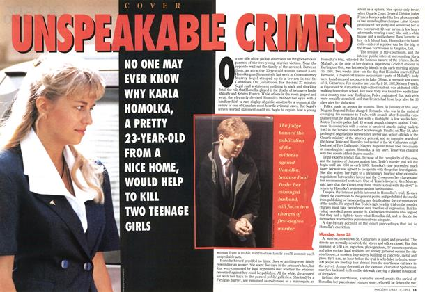 Article Preview: UNSPEAKABLE CRIMES, July 1993 | Maclean's
