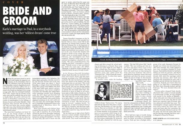 Article Preview: BRIDE AND GROOM, July 1993 | Maclean's