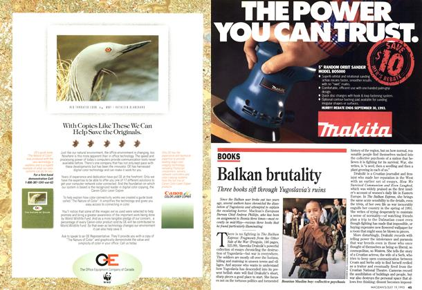 Article Preview: Balkan brutality, July 1993 | Maclean's