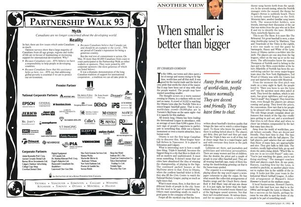 Article Preview: When smaller is better than bigger, July 1993 | Maclean's