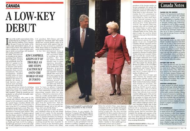 Article Preview: Canada Notes, July 1993 | Maclean's
