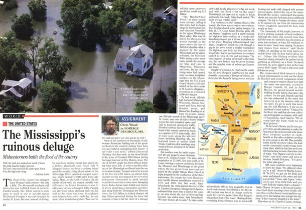 Article Preview: The Mississippi's ruinous deluge, July 1993 | Maclean's