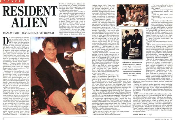 Article Preview: RESIDENT ALIEN, July 1993 | Maclean's