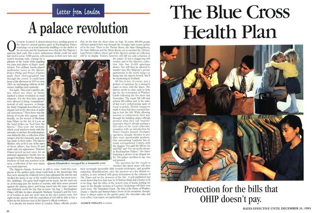 Article Preview: A palace revolution, August 1993 | Maclean's