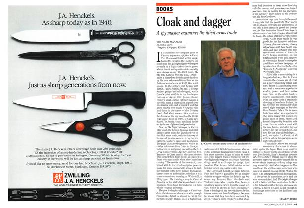 Article Preview: Cloak and dagger, August 1993   Maclean's