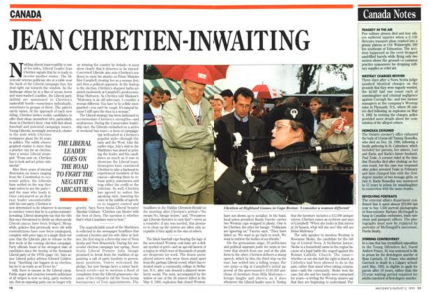 Article Preview: JEAN CHRETIEN-IN-WAITING, August 1993 | Maclean's