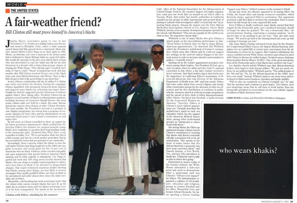 Article Preview: A fair-weather friend?, August 1993 | Maclean's