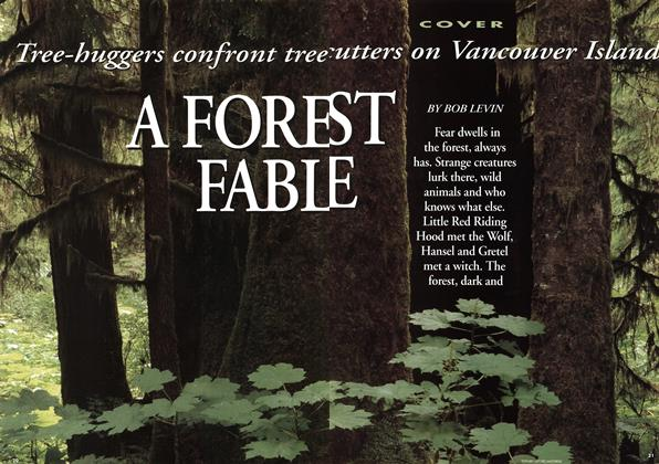 Article Preview: A FOREST FABLE, August 1993 | Maclean's