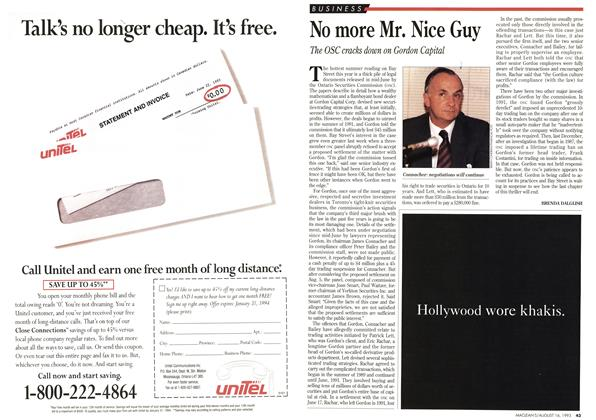 Article Preview: No more Mr. Nice Guy, August 1993 | Maclean's