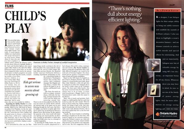 Article Preview: CHILD'S PLAY, August 1993 | Maclean's