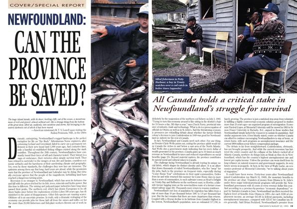Article Preview: NEWFOUNDLAND:, August 1993 | Maclean's