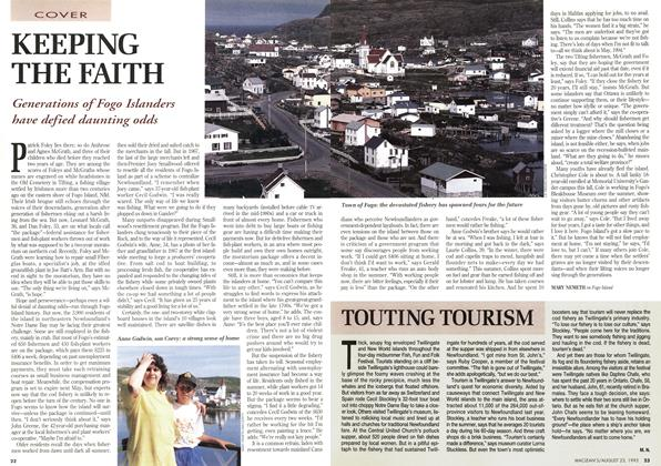 Article Preview: KEEPING THE FAITH, August 1993 | Maclean's