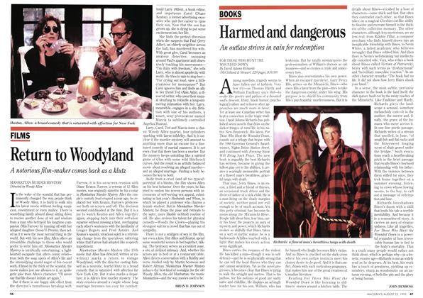 Article Preview: Return to Woodyland, August 1993 | Maclean's