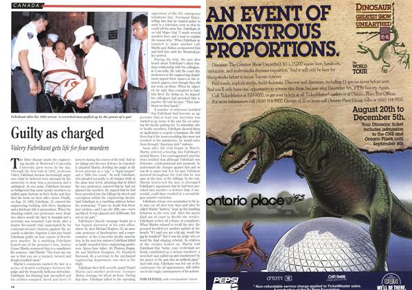 Article Preview: Guilty as charged, August 1993 | Maclean's