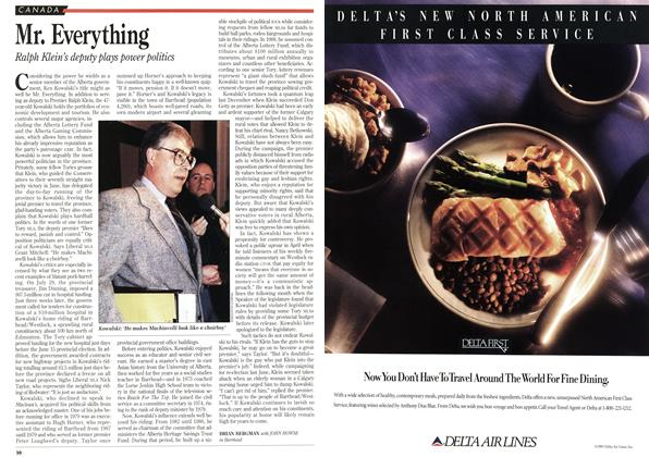 Article Preview: Mr. Everything, August 1993 | Maclean's