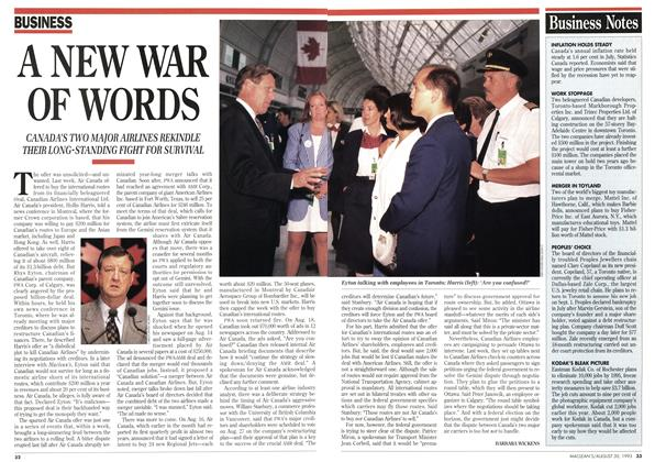 Article Preview: A NEW WAR OF WORDS, August 1993 | Maclean's