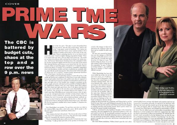 Article Preview: PRIME TIME WARS, August 1993 | Maclean's