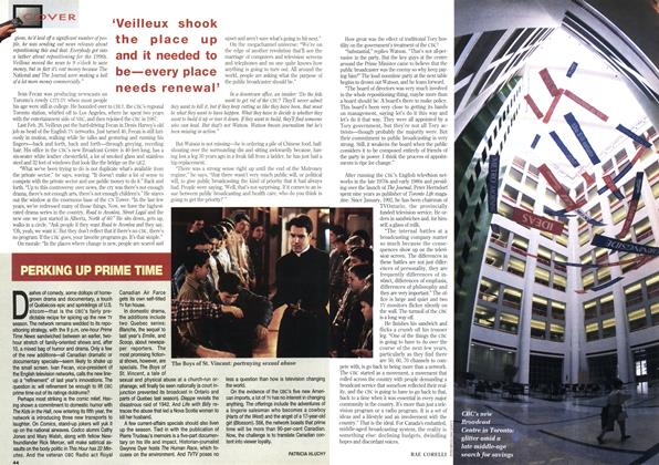 Article Preview: PERKING UP PRIME TIME, August 1993 | Maclean's