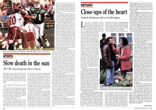 Article Preview: Close-ups of the heart, August 1993 | Maclean's