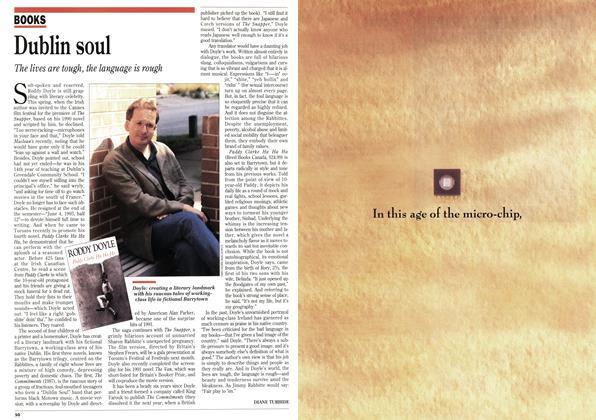 Article Preview: Dublin soul, August 1993 | Maclean's