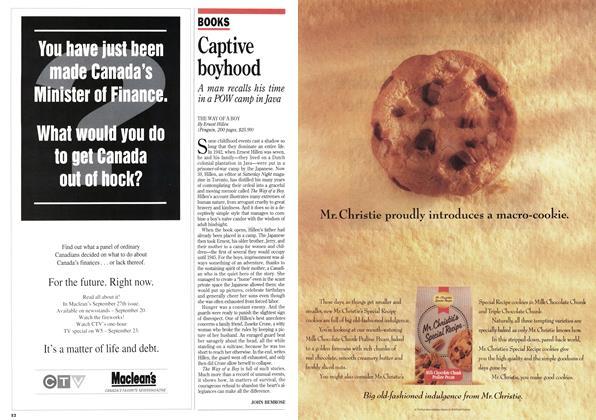 Article Preview: Captive boyhood, August 1993 | Maclean's