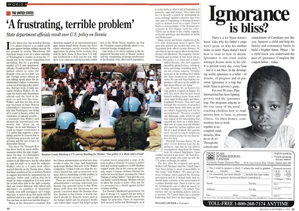 Article Preview: 'A frustrating, terrible problem', September 1993 | Maclean's