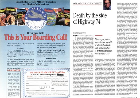 Article Preview: Death by the side of Highway 74, September 1993 | Maclean's