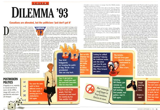 Article Preview: DILEMMA '93, September 1993 | Maclean's
